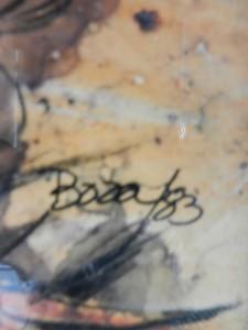 JUAN BOZA Signature Signature 8