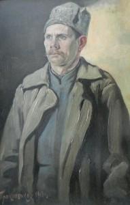 H. TIPOKONEHKO, RUSSIAN ARTIST, COSSACK 1916 (2)
